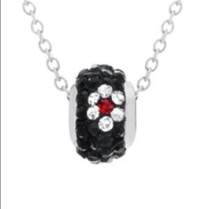 Jewelry - Beautiful crystal rondelle pendant